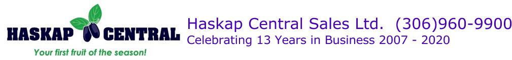 Haskap Central Sales Ltd.  (306)960-9900
